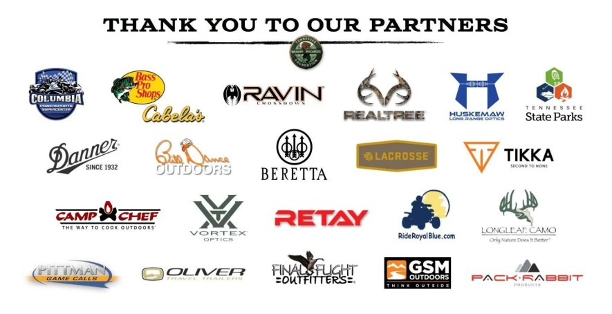 Tennessee Conservation Raffle Partners