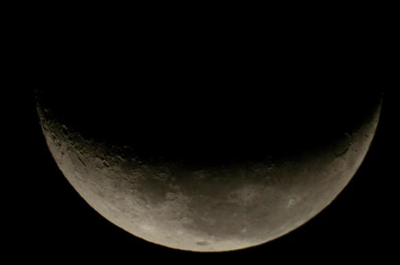 Crescent Moon, also taken by an Astro photographer