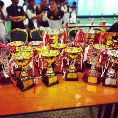 the Raffles family's trophy haul
