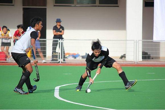 Ashraf and Benjamin taking aim