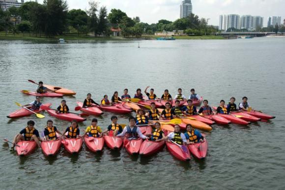 ODAC 29 & ODAC 30 Kayaking at Kallang River