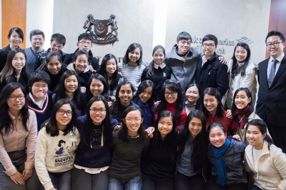 GCEPers at the Singapore Embassy in South Korea