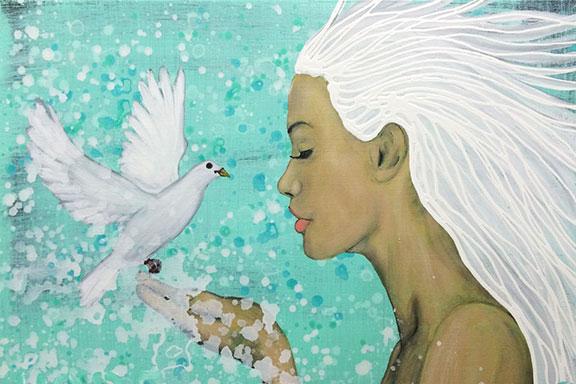 Hope's Dove By Rafi Perez