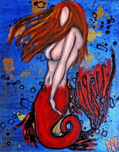 Ginger Mermaid Series 2 By Rafi Perez