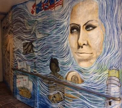 Downtown Pensacola Mural By Rafi Perez