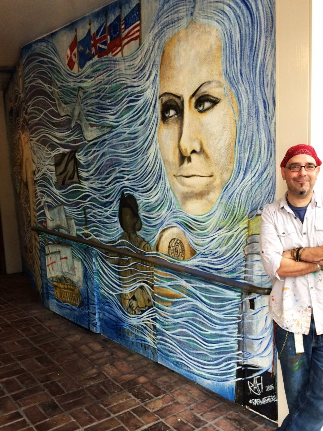 Downtown Pensacola Mural By Rafi Perez