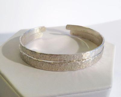 silver-textured-bracelets-2