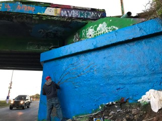 Graffiti Bridge Rafi Perez Child Abuse Awareness