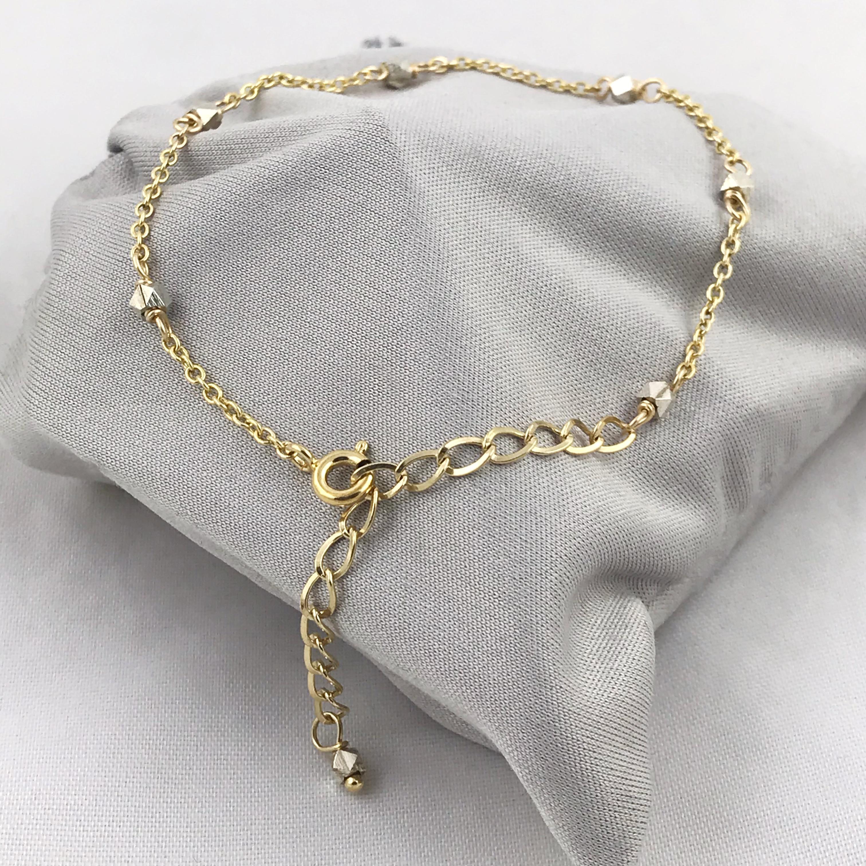 14k Gold-Filled Chain Bracelet