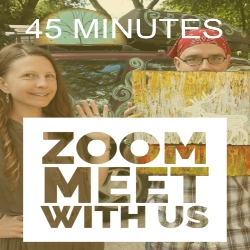 45 Minute Zoom Hangout With Rafi And Klee