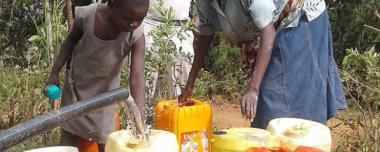 Bringing Clean Water to Alendu