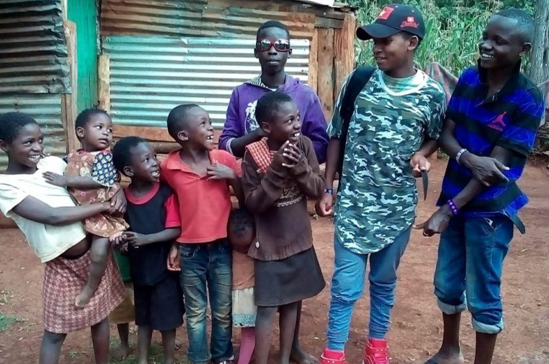 The importance of our boys home visits at Rafiki Mwema…