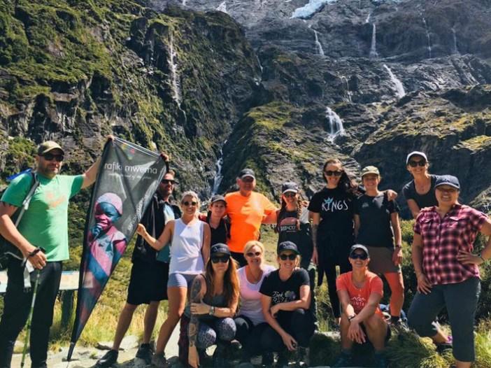 Our Trek for my Rafiki crew did it for Elizabeth!