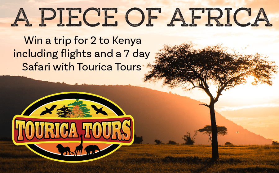 A Piece of Africa – Win a return trip to Kenya for 2