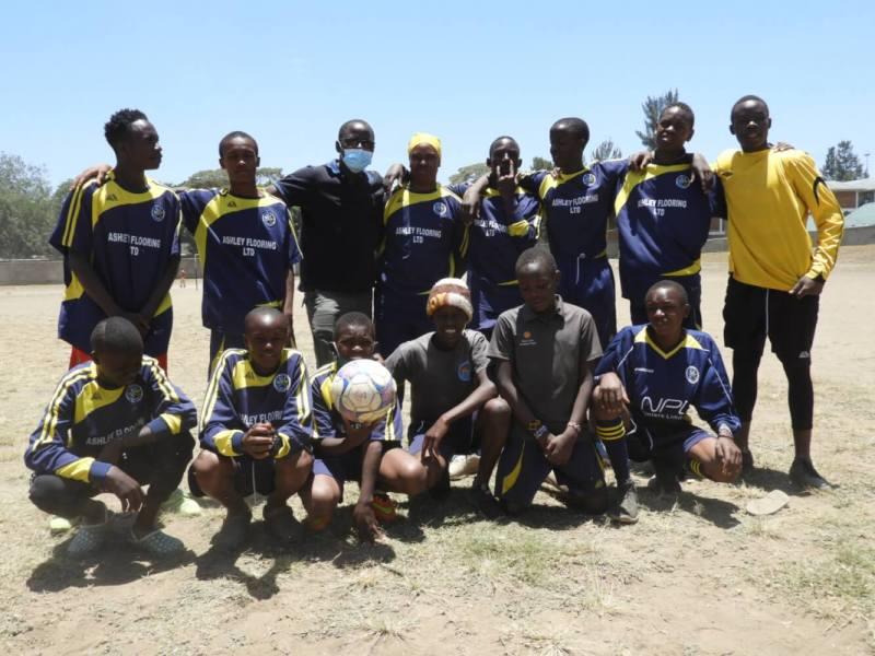 soccer match - rafiki team