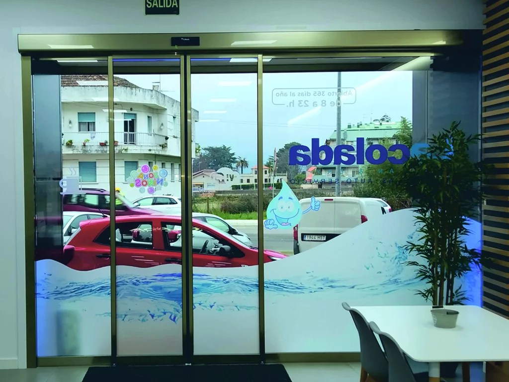 Puerta automática de cristal Collbaix Urban