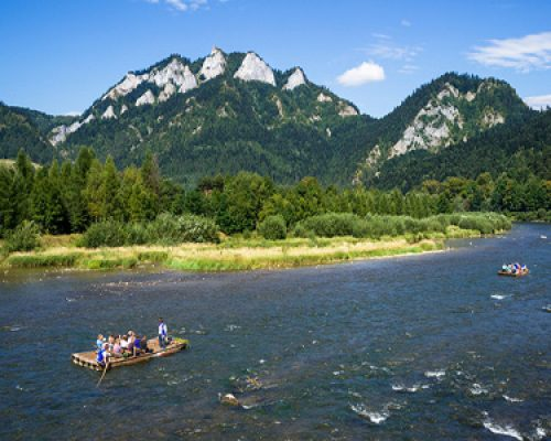 the Pieniny National Park