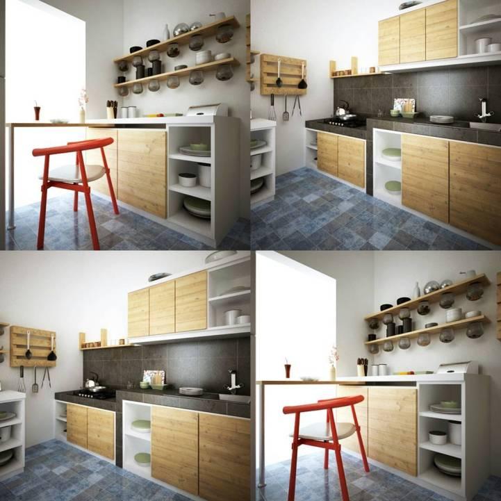 Desain Interior Dapur & Mini Bar