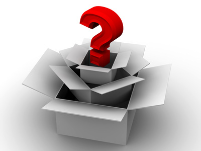 Question from boxes. 3d (CC BY-NC-SA 2.0)