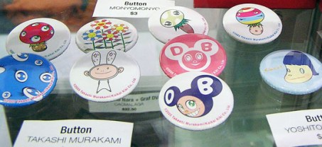 Here's an affordable way to own a piece of Murakami's oeuvre. $4.50 each.