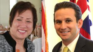 Rep. Colleen Hanabusa and Sen. Brian Schatz