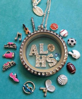 That teenager will love a special glass locket with cool charms from Origami Owl consultant Cheryl Leising of Rancho Cucamonga. (Courtesy of Origami Owl)