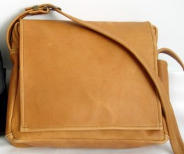 Leather purses are handcrafted from start to finish by Sophie Wohlend of Seattle. (Courtesy Waisted Belt Company)