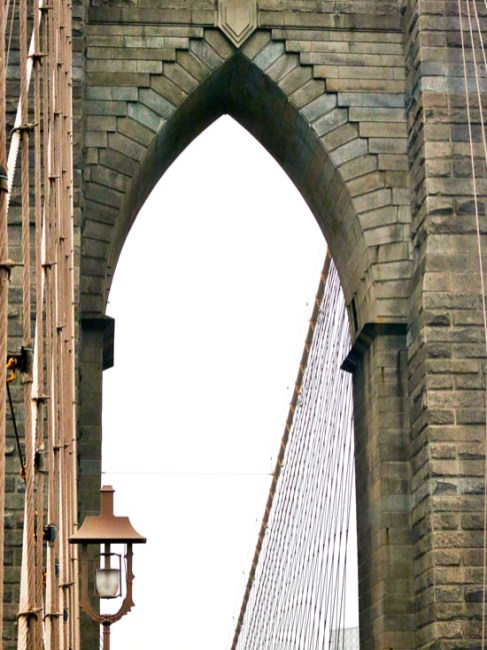 Up close on one of the arches.