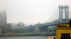 A sneak peek of the Manhattan skyline.