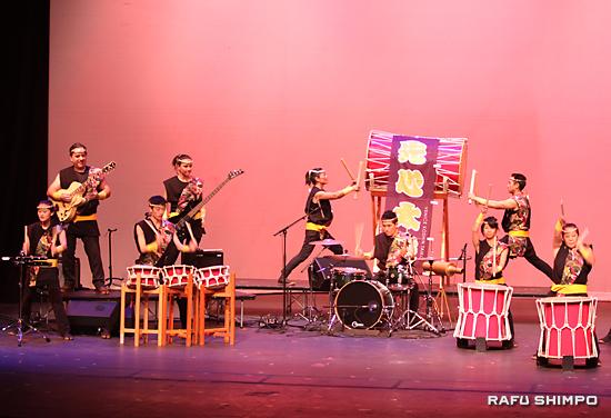 和太鼓と洋楽器のコラボレーション