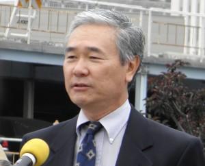 Darrell Kunitomi (Rafu Shimpo photo)