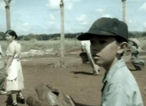 Luke Hagi as young David Toriyama in a flashback to the 1940s. (CBS)
