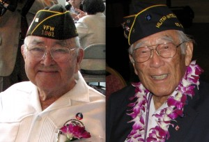 MIS veterans Bruce Kaji and Hitoshi Sameshima.