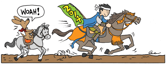 noodles year of horse