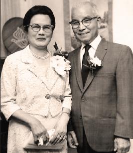 Jiro Morita and his wife, Reiko.