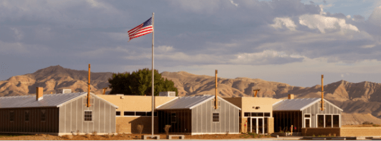 The Heart Mountain Interpretive Center. (Photo by Stevan Leger)