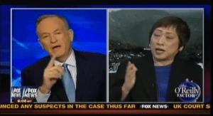 Bill O'Reilly debates Rep. Colleen Hanabusa.
