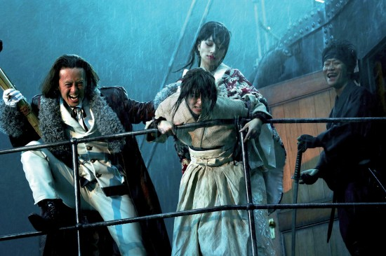 "Keishi Otomo's ""Rurouni Kenshin: Kyoto Inferno"" is the second live-action movie based on the manga series."
