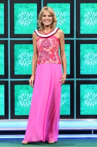 """Vanna White will be wearing Anne Namba's designs in the Nov. 3, 4 and 5 broadcasts of """"Wheel of Fortune."""""""