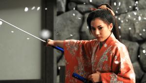 """Chihchiro Yamamoto in """"Uzumasa Limelight."""""""