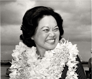 The late Rep. Patsy Takemoto Mink