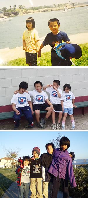 「姉と過ごした10年は宝」と尾崎泰斗さんが話すように、泰斗さんはどこへ行くにも茂花さんの手をつないでいた