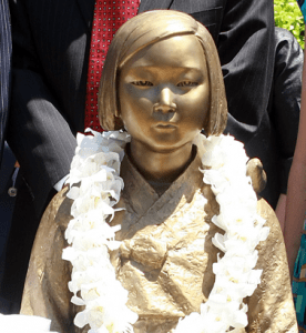 """There was controversy throughout the year over a """"comfort women"""" monument in Glendale and a proposal to establish one in Fullertong."""