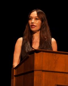 Journalist Francesca Yukari Biller served as emcee.