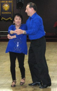 Harriet Hori and David Hribar