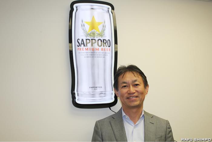 米国でのアジアビール売り上げナンバーワンの座を維持しているサッポロUSAの大類社長