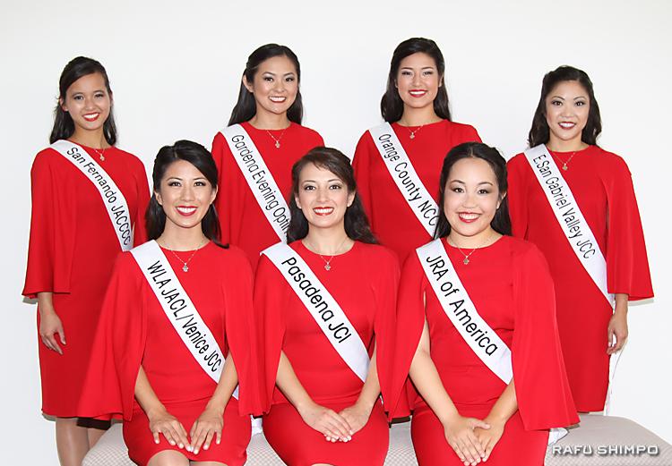 お披露目された女王を目指す7人の候補者