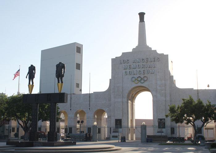 1932年と84年に行われたロサンゼルス五輪の会場となったロサンゼルス・メモリアル・コロシアム