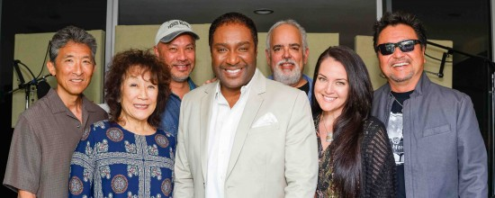 From left: Danny Yamamoto, June Kuramoto, Kimo Cornwell, Terry Steele, Dean Cortez, Yvette Nii, Dan Kuramoto. (Photo by Ken Fong)