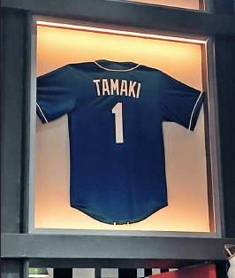"""A jersey bearing JT's name has been added to the set of the Nickelodeon sitcom """"Nicky, Ricky, Dicky & Dawn,"""" where he worked as a stand-in. (Courtesy Devron Conrad)"""